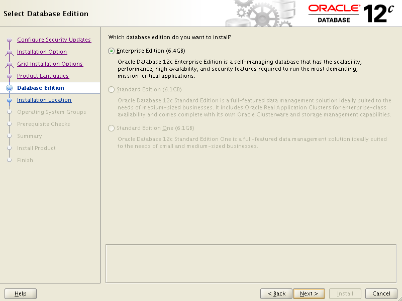 Oracle Database 12c Installation | Oracle District